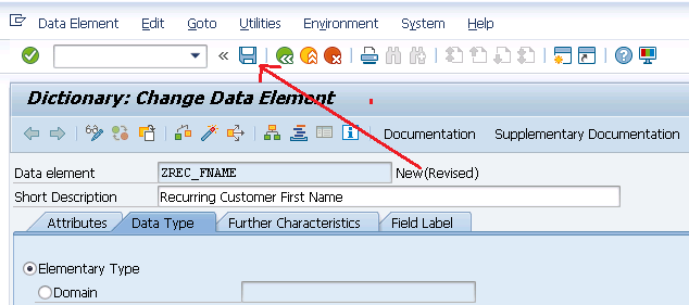 DATA ELEMENTS SAP ABAP