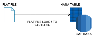 FLAT FILE LOAD TO SAP HANA