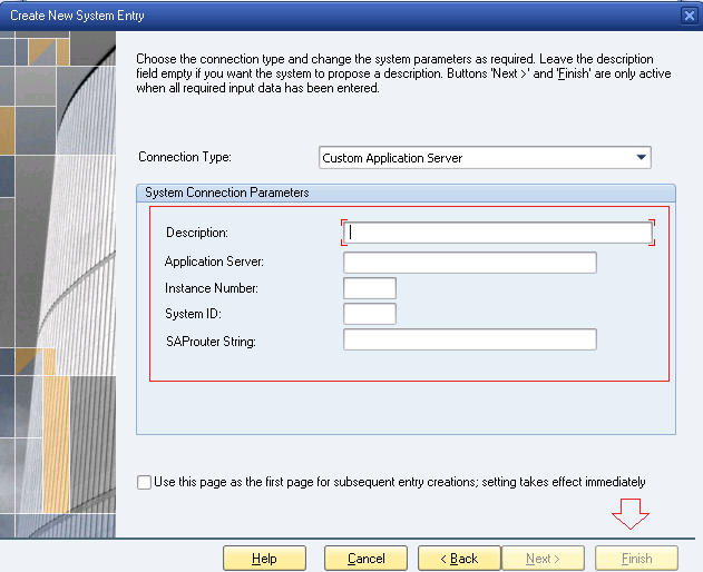 SAP GUI ADD SYSTEM