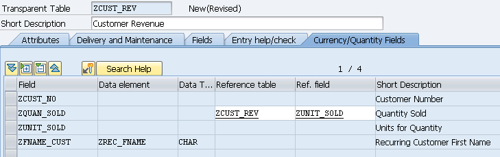 CREATE TABLE SAP BI ABAP SAP ABAP SAP BW ABAP CREATE TABLES