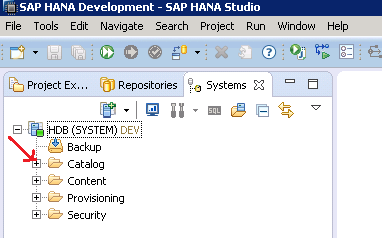 SAP HANA TABLE