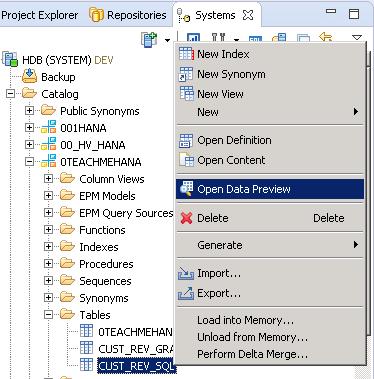 SAP HANA SQL SCRIPT INSERT STATEMENT