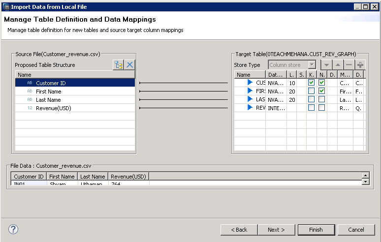 SAP HANA FLAT FILE UPLOAD CSV UPLOAD TO SAP HANA