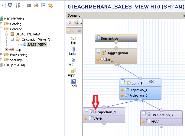 Filters in SAP HANA graphical views explained - SAP HANA Tutorial