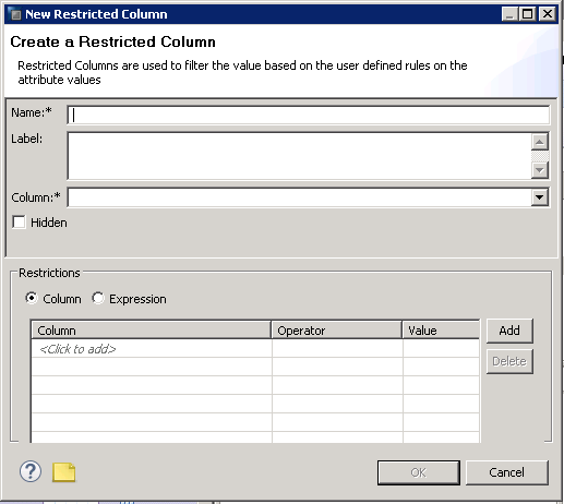 SAP HANA RESTRICTED COLUMN CALCULATION VIEW