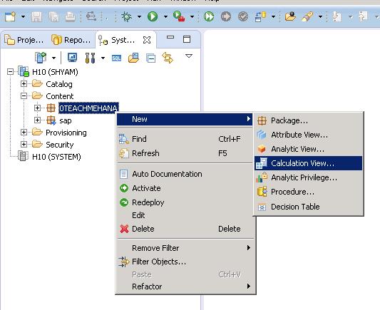Rank node in SAP HANA Calculation view - SAP HANA Tutorial