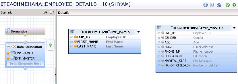 SAP HANA Attribute View for master data - SAP HANA Tutorial