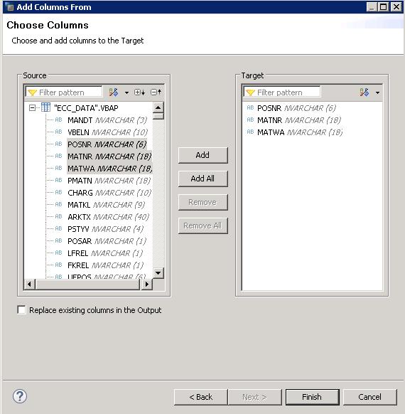 SAP HANA Calculation view using SQL script