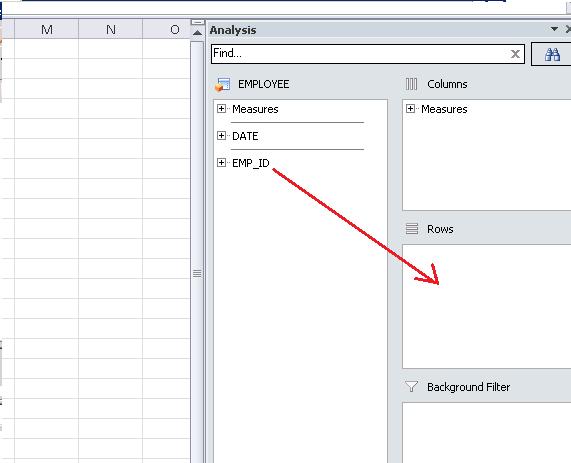 Analysis for Office - SAP BO – SAP HANA Tutorial