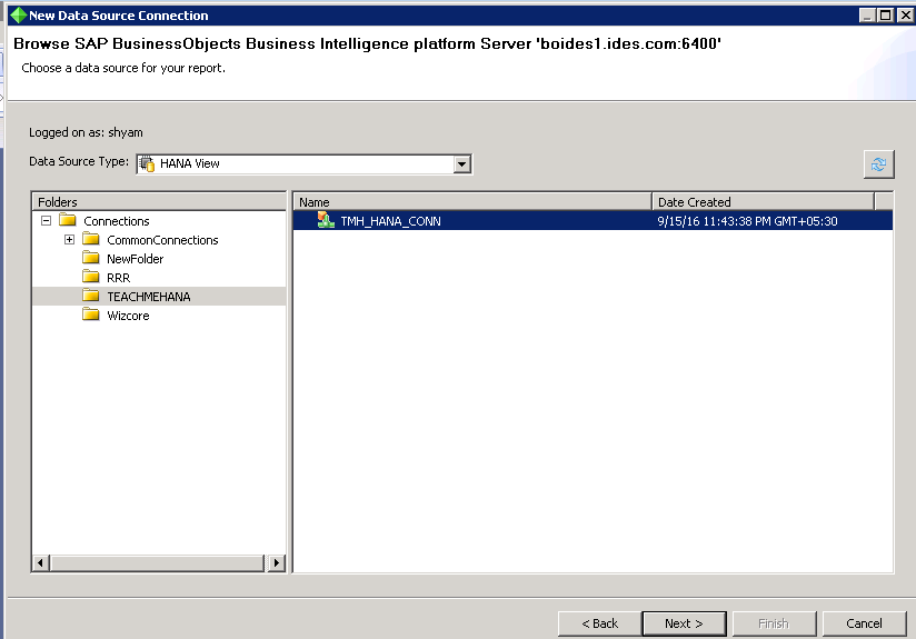 SAP Business Objects Crystal reports
